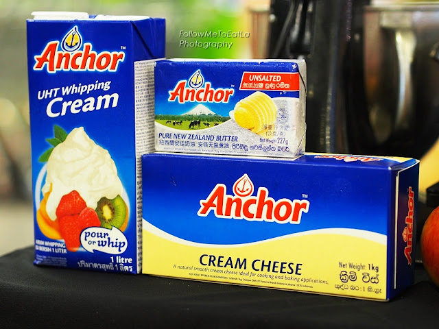 Finest New Zealand Dairy Products ANCHOR Butter, Cream & Cream Cheese