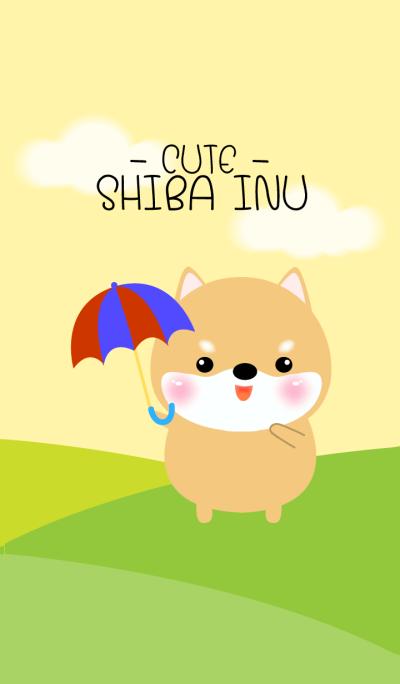 I'm Cute Shiba Inu Dog theme