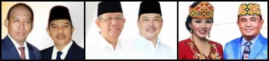 Pasangan Calon gubernur dan wakil gubernur Kalimantan Barat (Kalbar) 2018