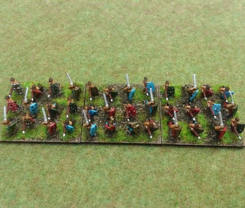 Painting Gallic & Celtic Warband picture 3