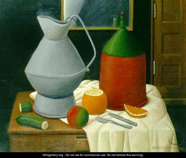 still-life-with-a-mirror-fernando-botero
