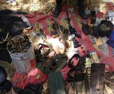 Hallan en al sierra mega almacén de armas del Cártel de Sinaloa
