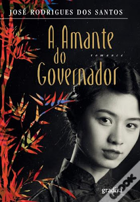 #Livros - A Amante do Governador, de José Rodrigues dos Santos