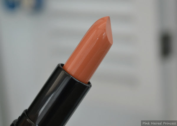 makeup revolution amazing lipstick nude close up