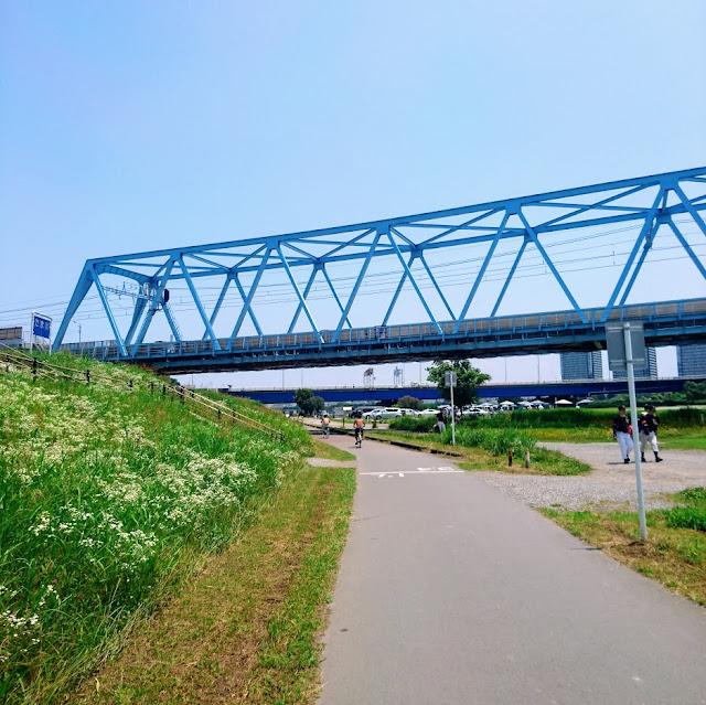 多摩川 東海道線と京急