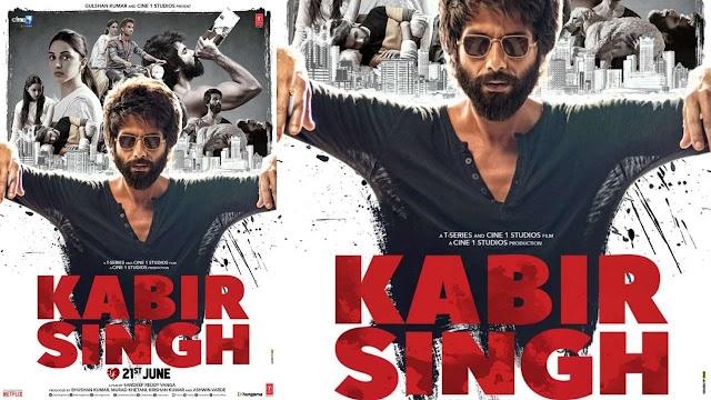 Kabir Singh full HD movie free download leaked online by tamil rockers