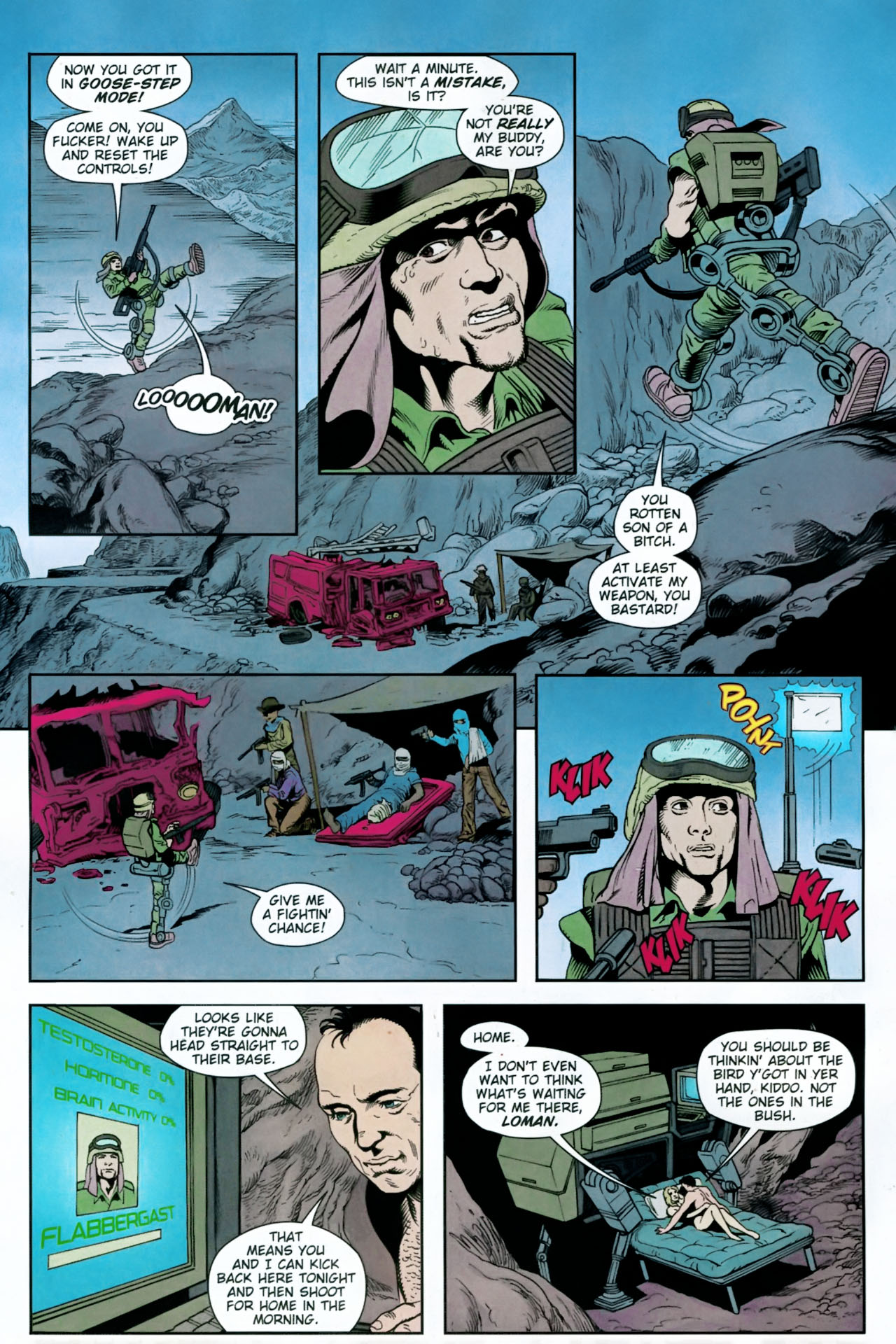 Read online Army @ Love comic -  Issue #12 - 12