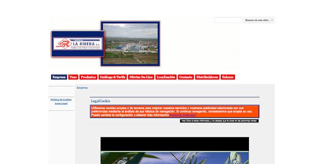 Sulfatos La Rivera página web