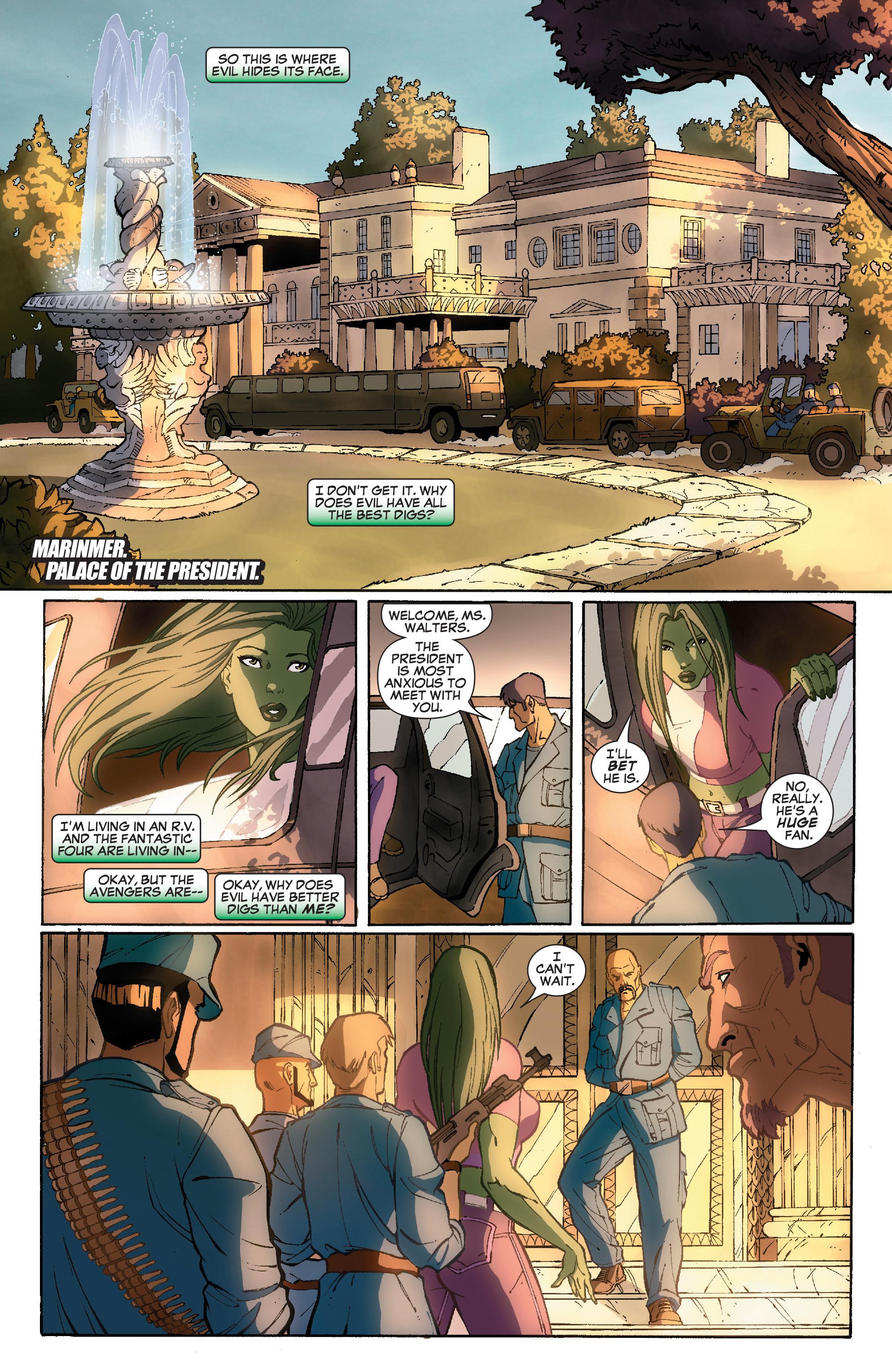 Read online She-Hulk (2005) comic -  Issue #36 - 3
