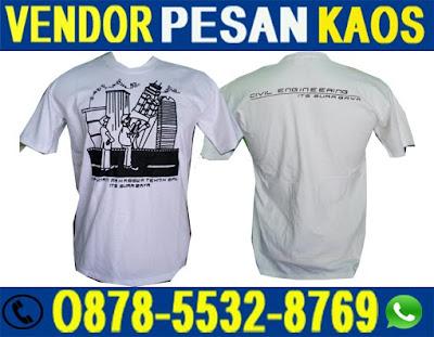 Vendor Alamat Bikin Kaos Kampus Custom di Surabaya