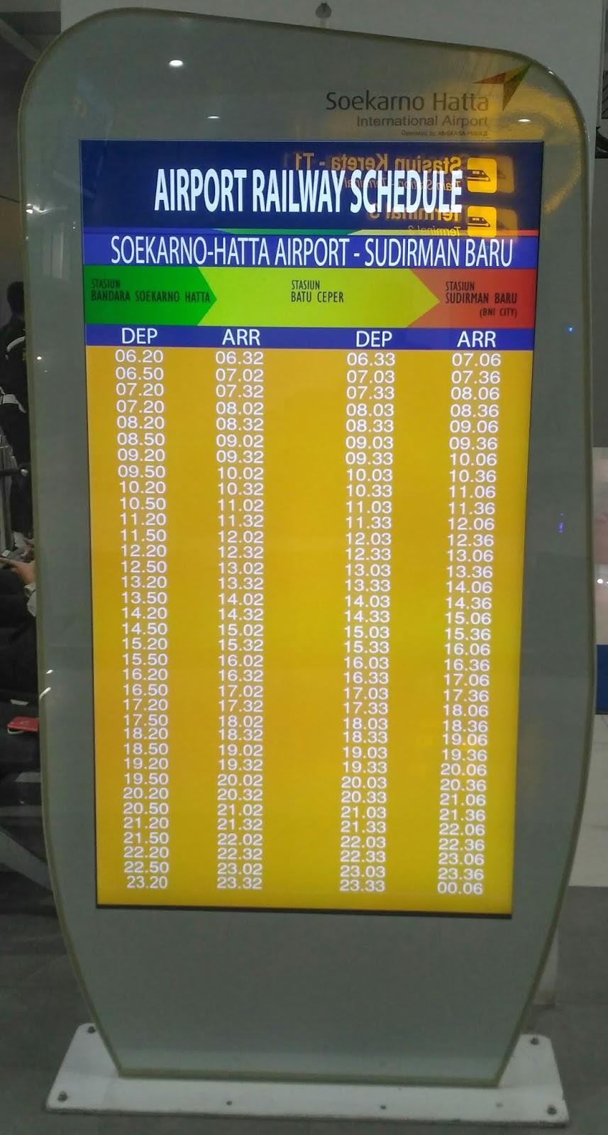 33 12 50 20 >> Yuk Rasakan Mudahnya Naik Kereta Bandara Soekarno Hatta