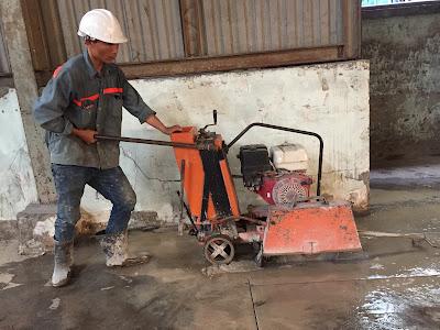 Khoan cắt bê tông tại huyện Châu thành A