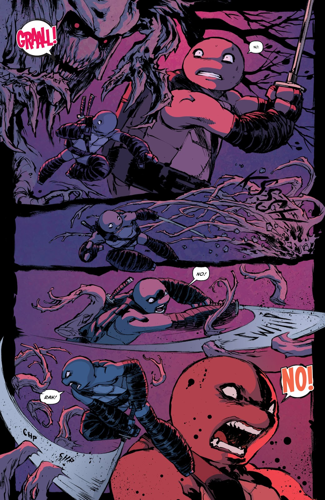 Read online Teenage Mutant Ninja Turtles: The IDW Collection comic -  Issue # TPB 4 (Part 1) - 61