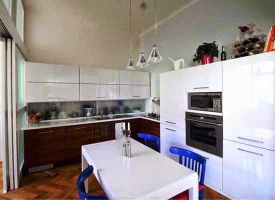 Gambar Desain Dapur L Sederhana