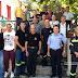 Σε Π.Κ Παραμυθιάς και δημαρχείο, ο διοικητής της περιφερειακής διοίκησης Ηπείρου της πυροσβεστικής Αρχιπύραρχος Ευθ. Γεωργακόπουλος