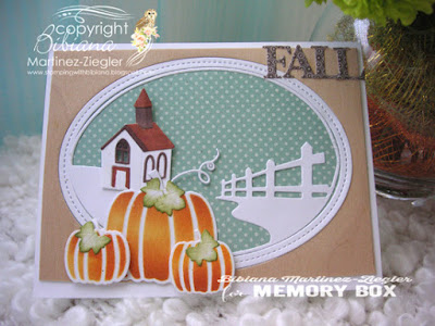 fall country house card