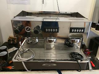 Sửa chữa máy pha cà phê Monroc
