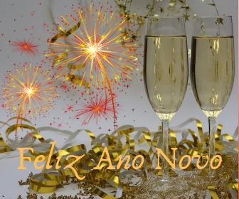 comemoração de ano novo