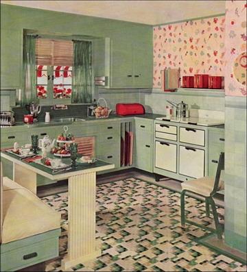 Decora el hogar: Cocinas estilo retro