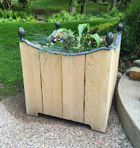 Impatient Gardener Diy Wooden Planter With Lead Trim