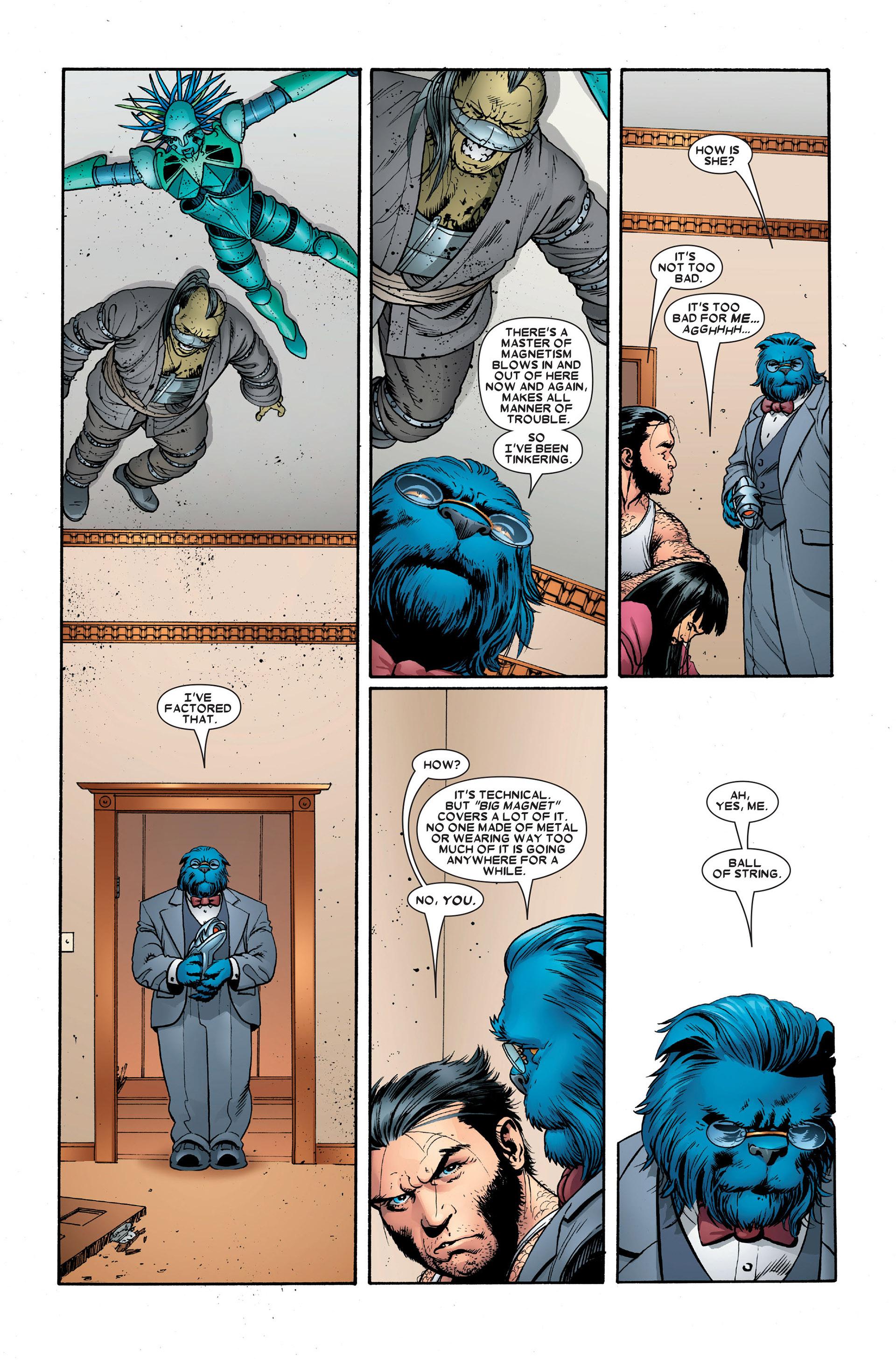 Read online Astonishing X-Men (2004) comic -  Issue #18 - 14