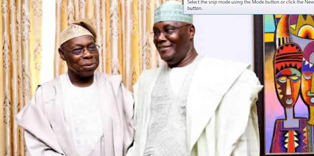 I have forgiven you wholeheartedly, go and sin no more, Obasanjo tells Atiku