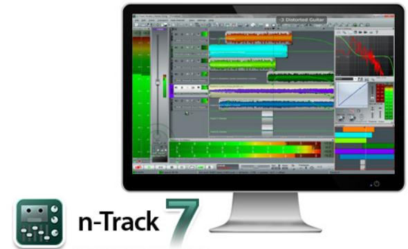 Download n-Track Studio 7.0.3 Build 3119