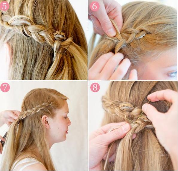 Coiffure Pour Un Mariage Petite Fille Ivory Hairstyle