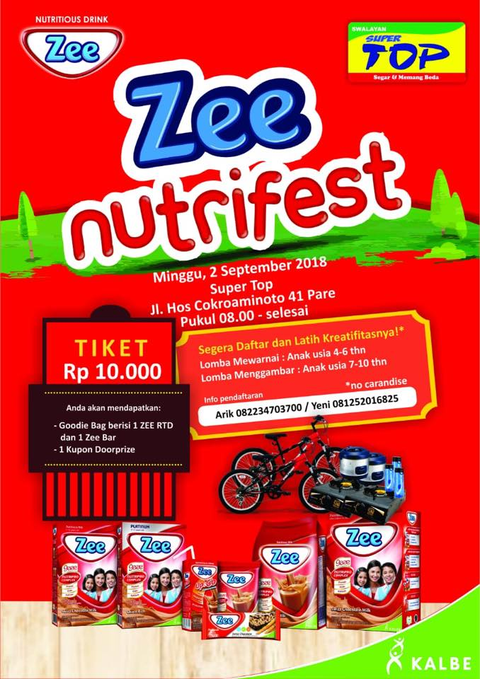 Lomba Mewarnai Dan Menggambar Di Zee Nutrifest 2018 Lomba