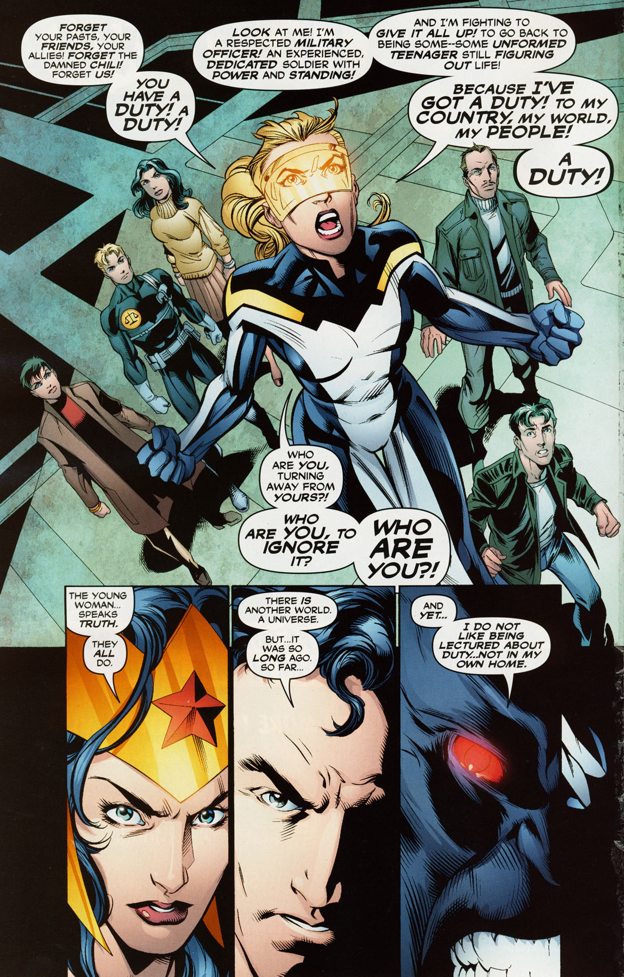 Read online Trinity (2008) comic -  Issue #38 - 15
