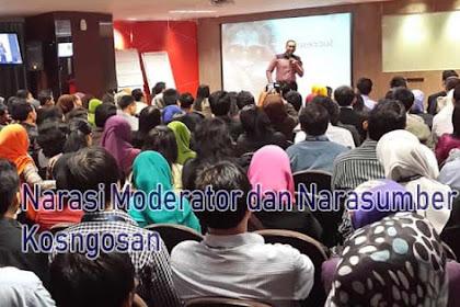 Contoh Naskah Moderator dan Narasumber Seminar Kenakalan Remaja