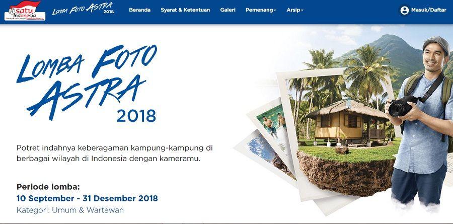 semangat kampung indonesia lomba foto astra 2018