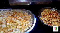 image of fried gond and kaju