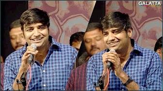 Thambi Ramaiah is jealous of YG Mahendran's hair – Sathish's Hilarious speech
