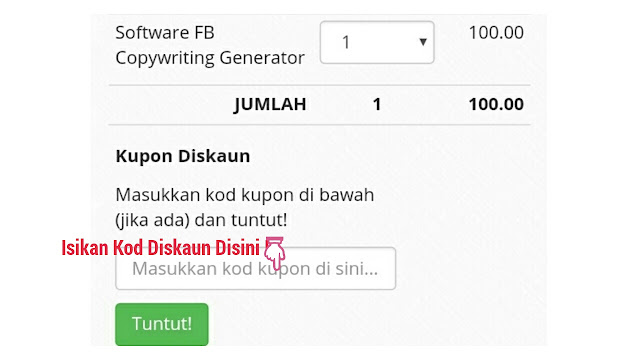 Cara Mudah Bina Ayat Copywriting Power Dengan FB Copywriting Generator By Raja Kamil