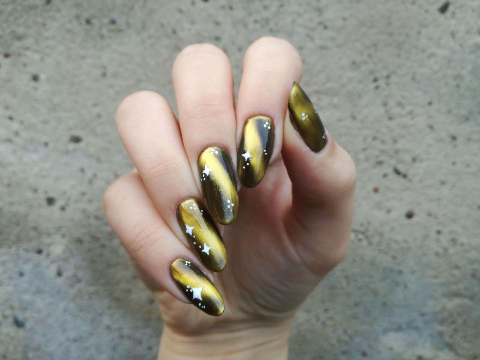magnetyczne paznokcie