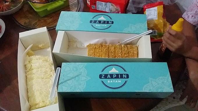 Zapin Cake  : Icip-Icip Bolu Kekinian Dari Batam