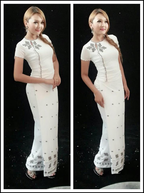 Wint Yamone Hlaing - Myanmar Dress Beauty
