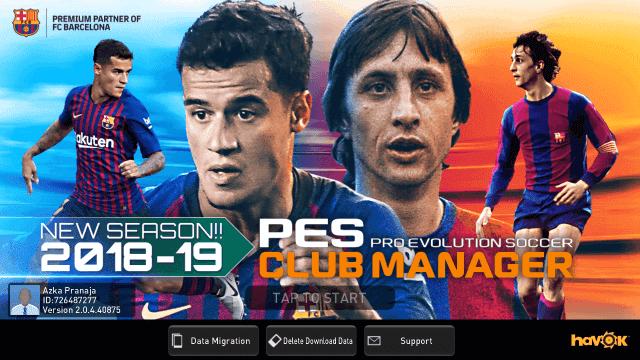 Cara mengatasi Games PES CLUB MANAGER force clouse versi terbaru