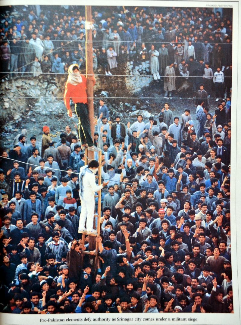 kashmir yesterday  india today 1990