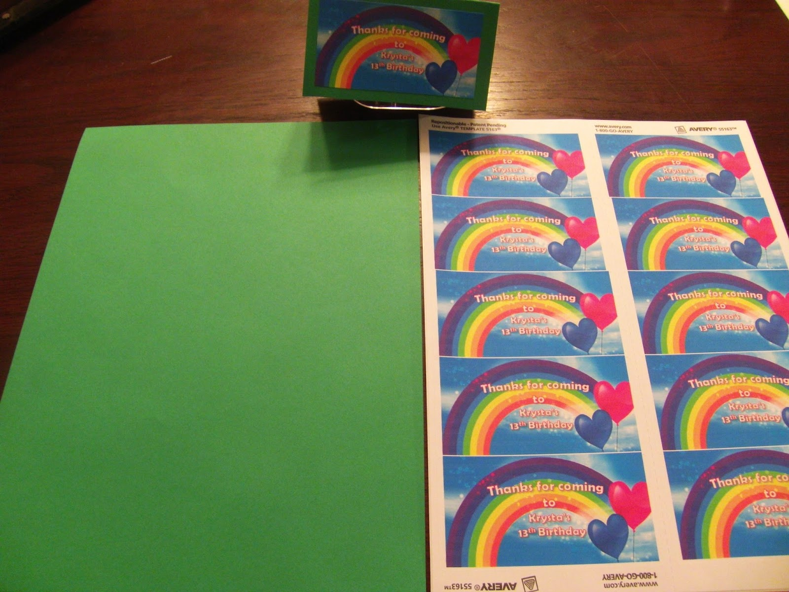 how to make rainbow book