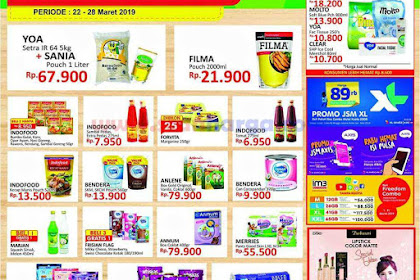 Katalog Promo YOMART 29 Maret - 4 April 2019