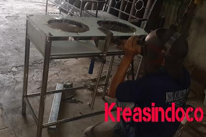 Kedudukan Kompor Stainless Martabak Pesanan Bu Vioni Bogor Baranangsiang