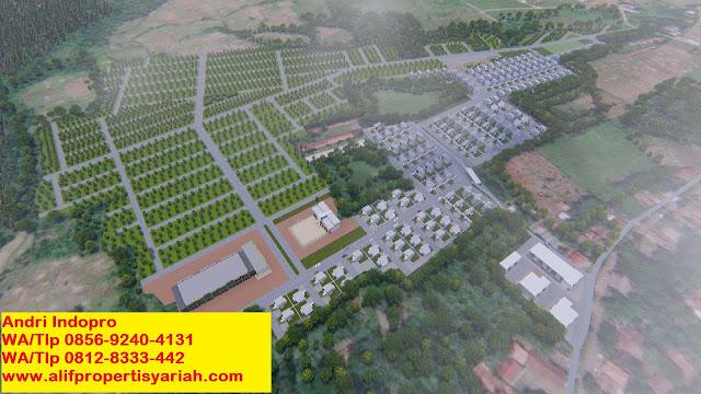 Tanah-dijual-di-Bogor-murah-Kavling-Andalus-Indopro-(Grand-Andalusia-Village)-kec-Cariu-Bogor