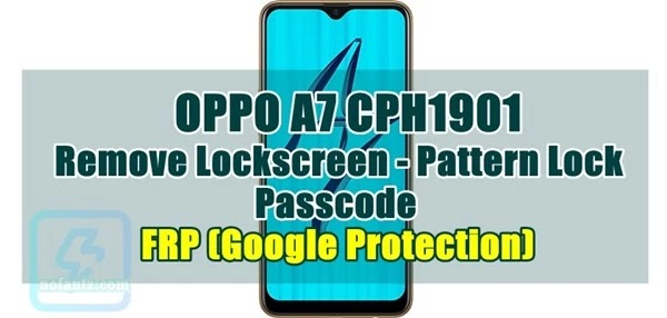 Remove Lockscreen Oppo A7 CPH1901