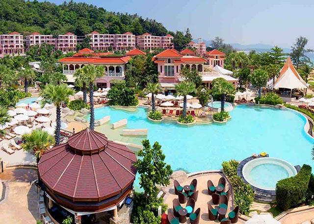 Тайланд Пхукет отель Centara Grand Beach Resort