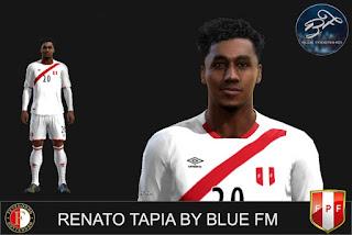 Face Renato Tapia - Feyenoord Pes 2013
