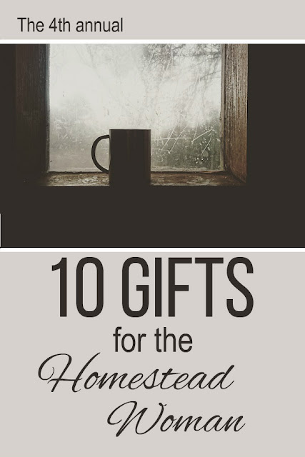 The best gift guide for a homestead woman, from Oak Hill Homestead. The 4th annual guide.