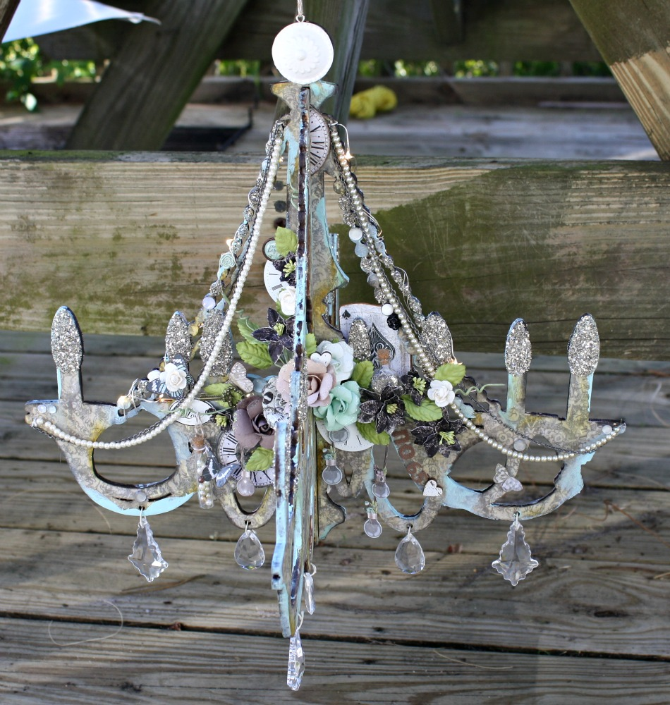 Msliberty creations chandelier day on the prima blog blog link arubaitofo Image collections
