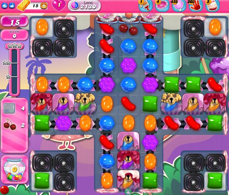 Candy Crush Saga level 2130